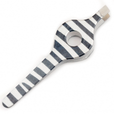 Animal Print Wide Grip Tweezers