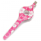 Floral Print Wide Grip Tweezers